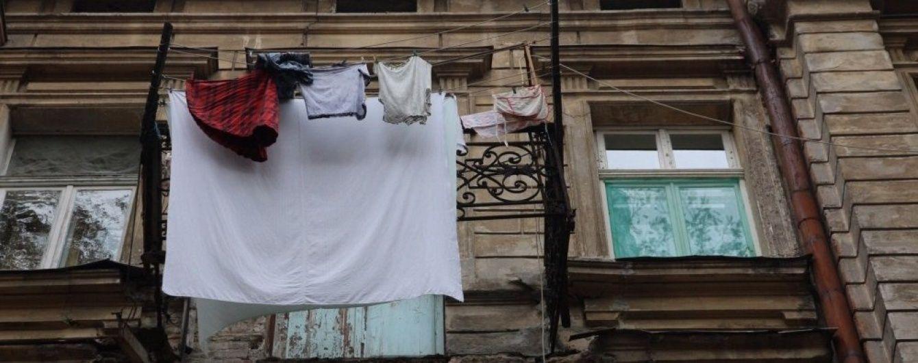 В Одессе умерла пострадавшая при обрушении балкона пенсионерка