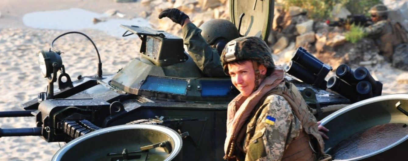 Савченко нарахувала 245 полонених українців на Донбасі та не бачить потреби в особливому статусі