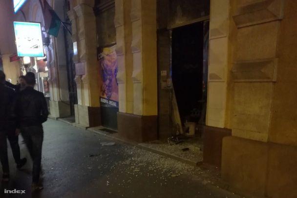 В столице Венгрии произошел мощный взрыв