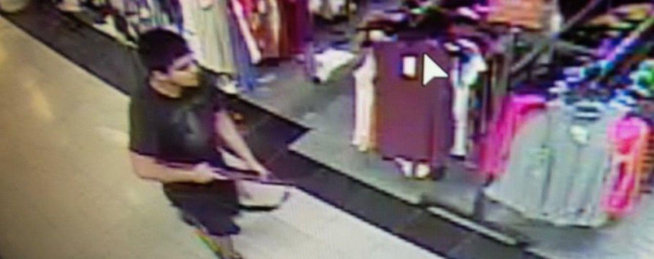 Поліція США оприлюднила фото підозрюваного в стрілянині в торговому центрі Берлінгтона