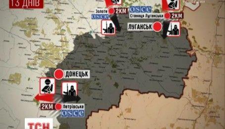 Зони безпеки в АТО: Україна та РФ розведуть війська на Донбасі