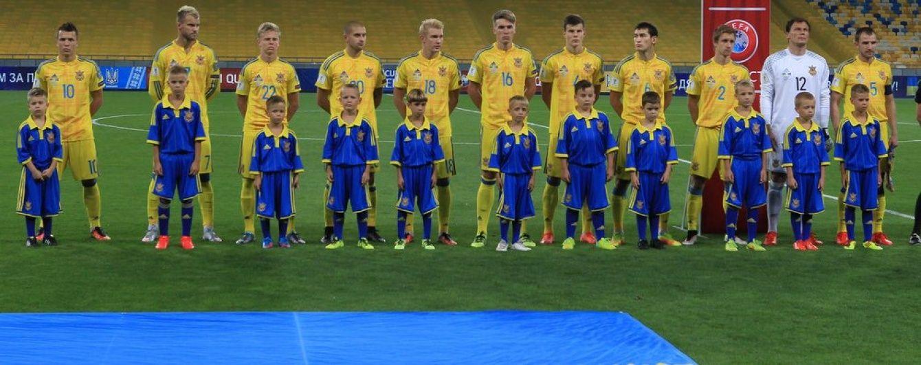 Сборная Украины сыграет с Косово при зрителях