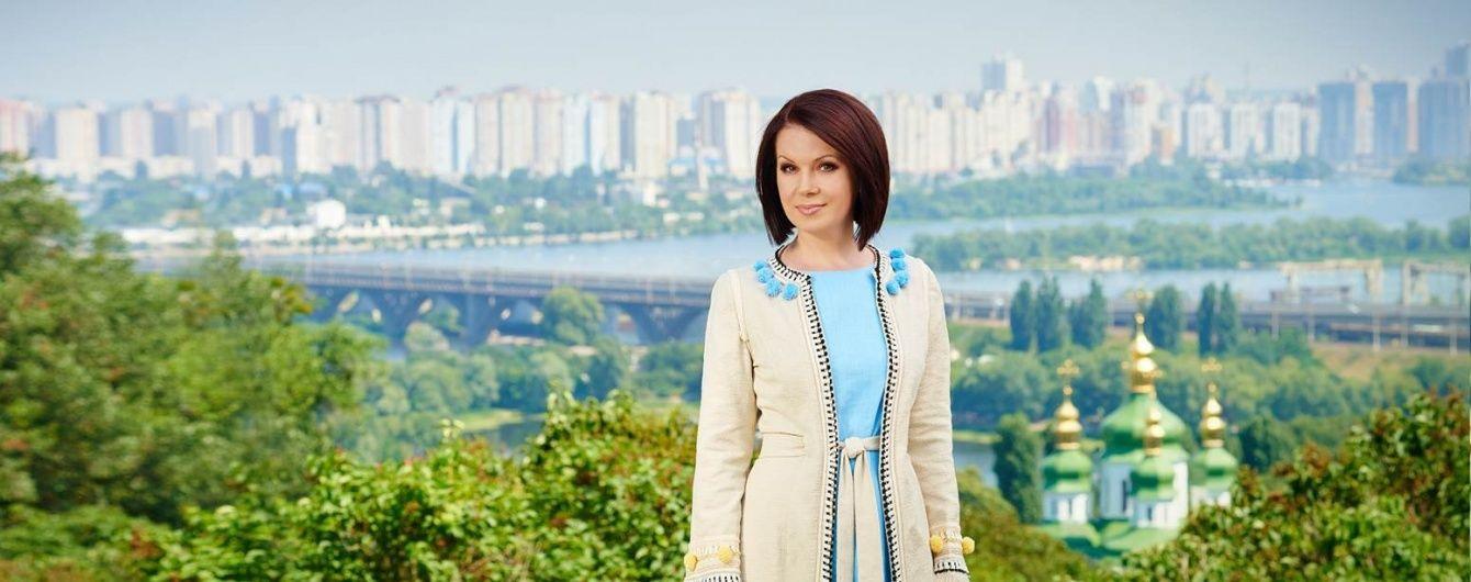 Вишукана Алла Мазур знялась у новому ролику до Дня Незалежності