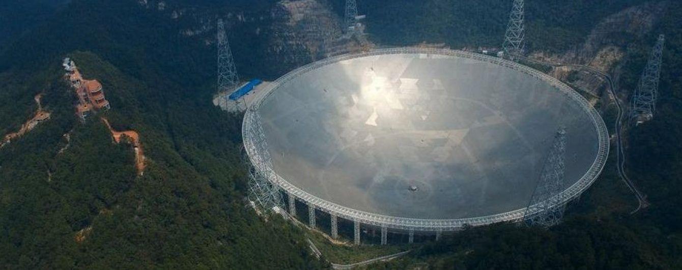 У Китаї запрацював найбільший в світі радіотелескоп, заради якого відселили майже 10 тисяч людей