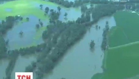 Большая вода накрыла юго-восток Австралии