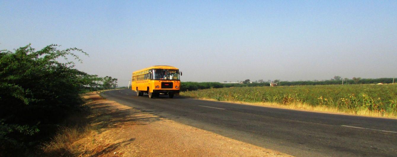 На Закарпатті автобус із пасажирами розтрощив паркан і влетів у дерево