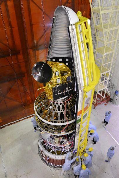 Индия вывела на околоземную орбиту разработанные студентами спутники