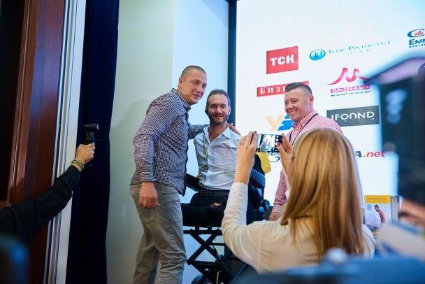 """Нік Вуйчич зустрівся з героями АТО та привітав проект """"Переможці"""""""