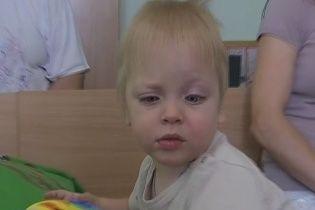Маленький Іванко з родини переселенців потребує допомоги