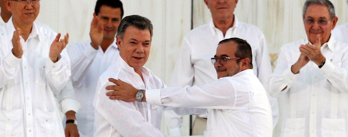 В Колумбии правительство и повстанцы положили конец полувековой гражданской войне