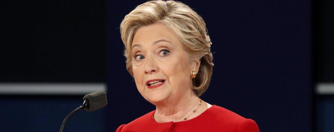 Клінтон зі значною перевагою перемогла Трампа у дебатах