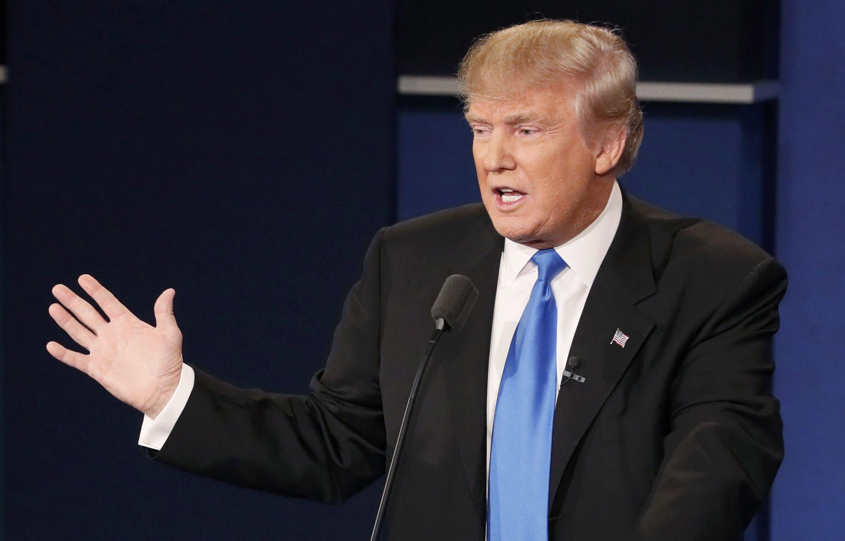 Дебати Клінтон та Трампа_14