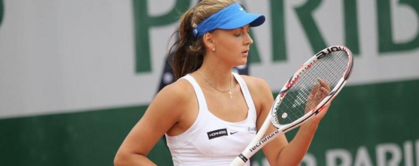 Українська тенісистка проміняла громадянство на бельгійське