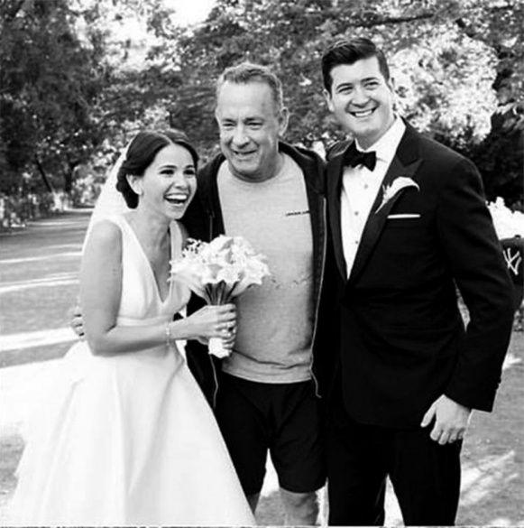 Том Хенкс опинився випадково на весіллі