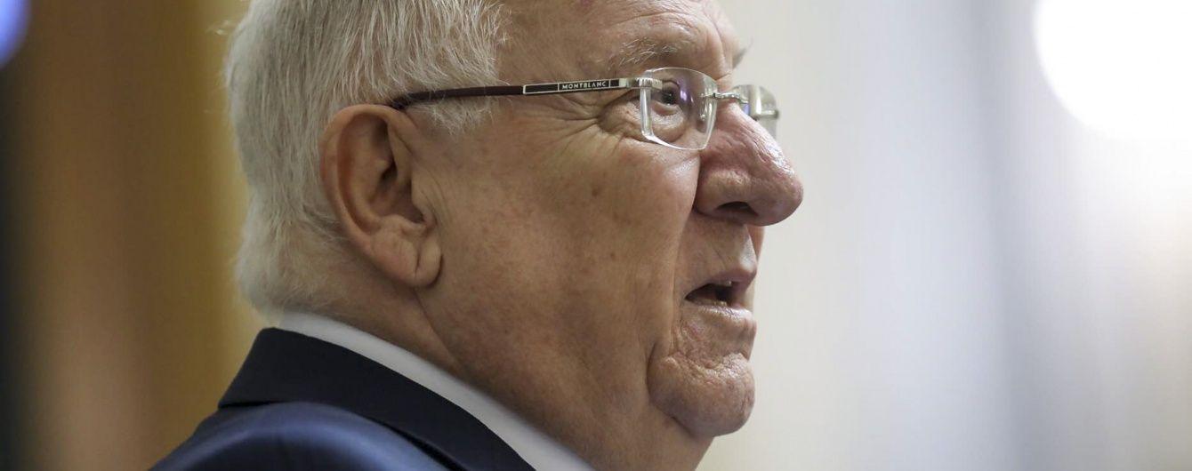 Президент Израиля прервал государственный визит в Украину