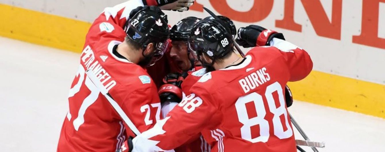 Збірна Канади опинилася за крок від перемоги на Кубку світу з хокею