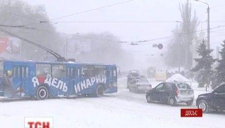В Украину идет страшная и жестокая зима