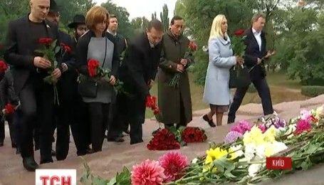 В столице отмечают страшную годовщину трагедии в Бабьем Яру