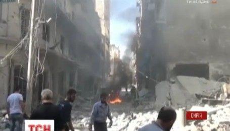 Росія відмовила у вимозі США припинити авіаудари по сирійському місту