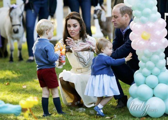 Герцогиня Кембриджская на детской вечеринке, Канада_3
