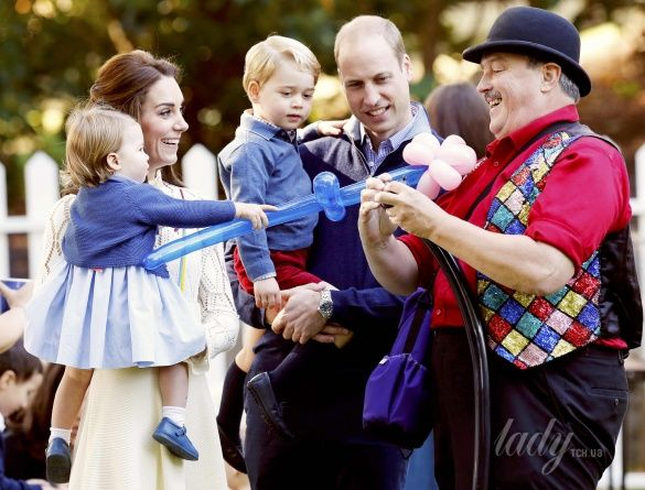 Герцогиня Кембриджская на детской вечеринке, Канада_4