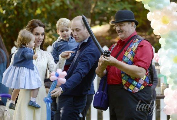 Герцогиня Кембриджская на детской вечеринке, Канада_7
