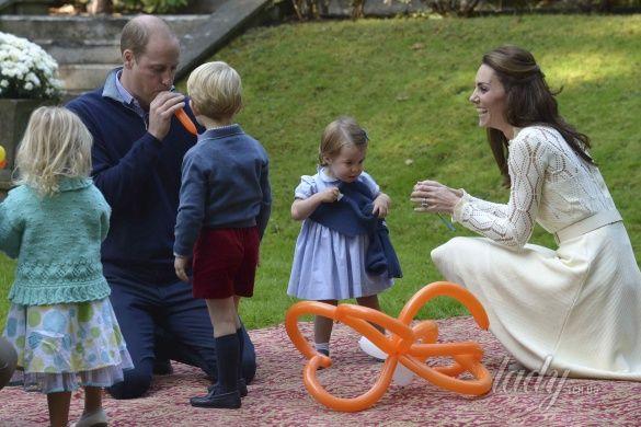 Герцогиня Кембриджская на детской вечеринке, Канада_9