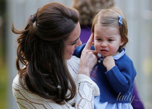 Герцогиня Кембриджская на детской вечеринке, Канада_23