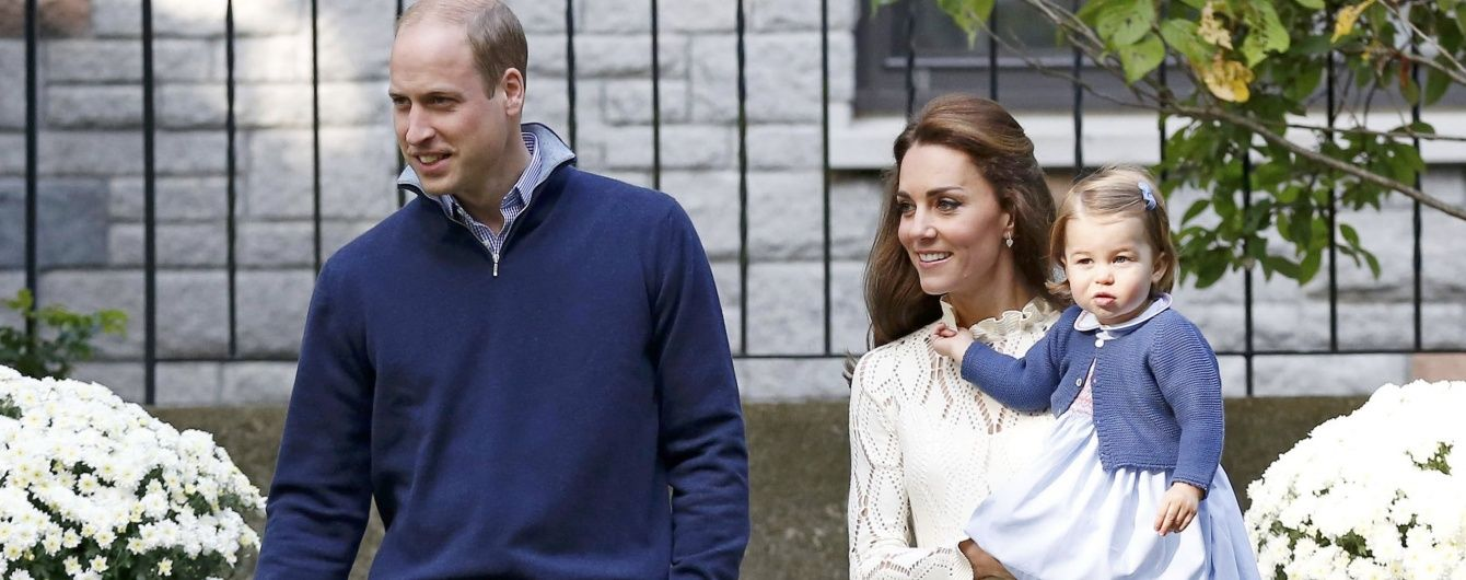 Семейный выход: герцогиня Кембриджская и принц Уильям вместе с детьми посетили детский праздник