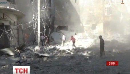 В Сирии, несмотря на режим прекращения огня, продолжают раздаваться взрывы бомб