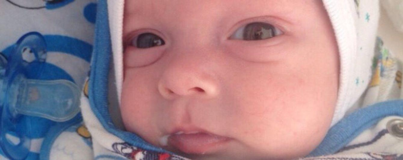 3-місячний Давид потребує вашої допомоги