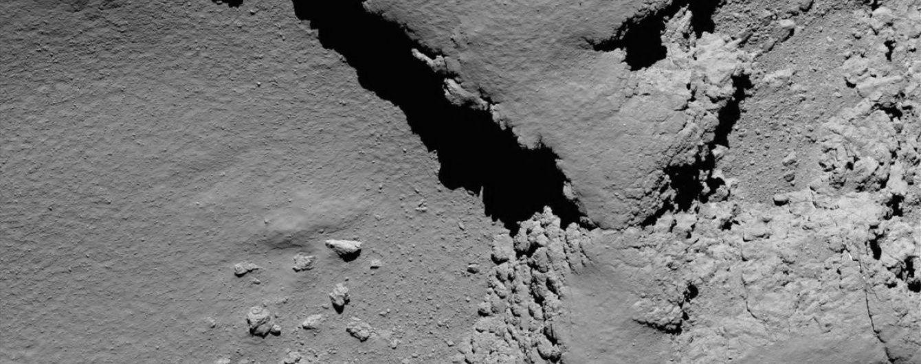 """Космический зонд """"Розетта"""" завершил свою миссию столкновением с кометой"""