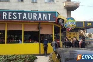 В кафе у центрі Києва невідомі влаштували стрілянину, є поранений