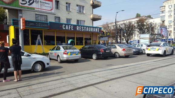 Стрілянина у кафе біля цирку Київ