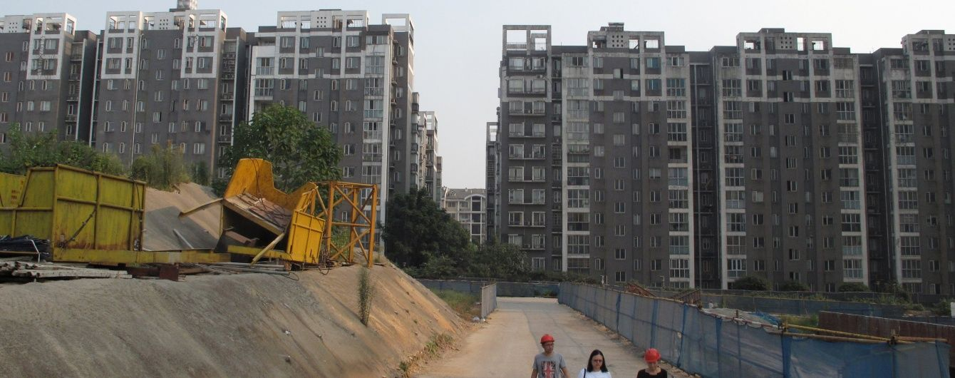 У Китаї стався раптовий обвал двох будинків