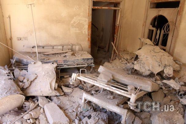 Російські літаки розбомбили в Сирії госпіталь, є загиблі. Світ шле Москві гнівні звинувачення