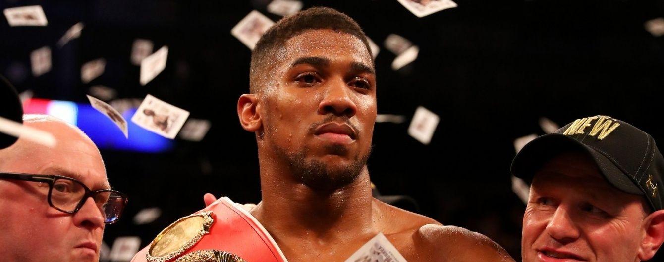 Промоутер Джошуа про бій з Кличком: це буде найбільшою подією в історії британського боксу