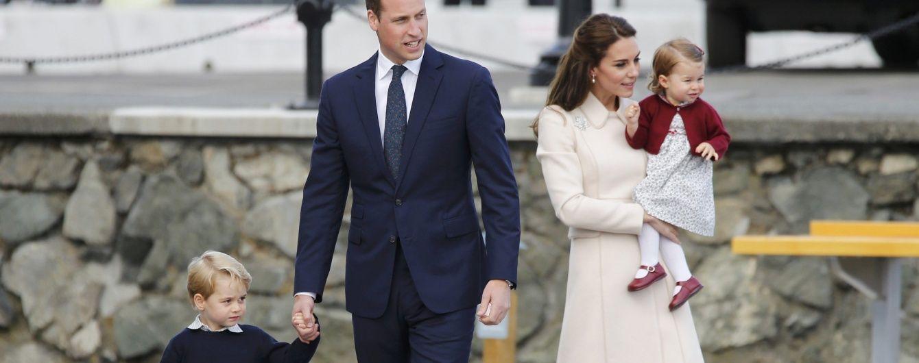 Очередной яркий образ герцогини и детей: Кембриджи завершили тур по Канаде