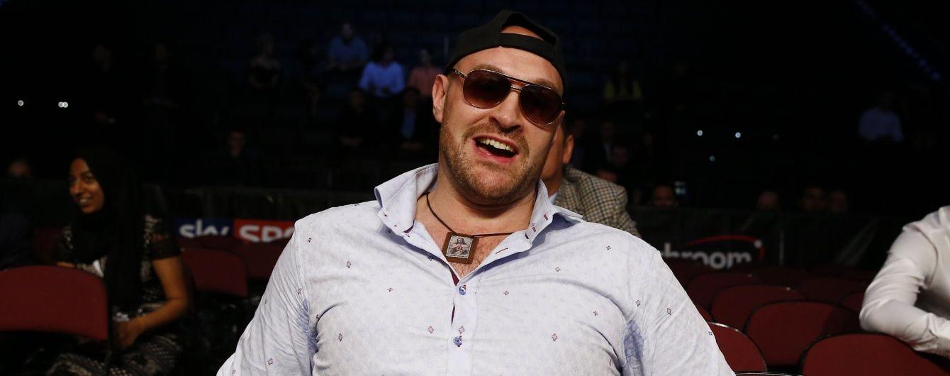 Тренер Ф'юрі відреагував на звинувачення щодо вживання кокаїну суперваговиком