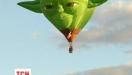 Дарт Вейдер і Магістр Йода: над штатом Нью-Мексико здіймаються в небо чудернацькі повітряні кулі