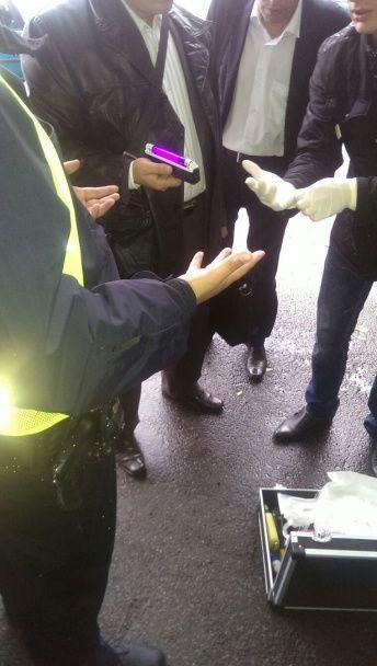 На Львівщині на хабарі затримали поліцейського