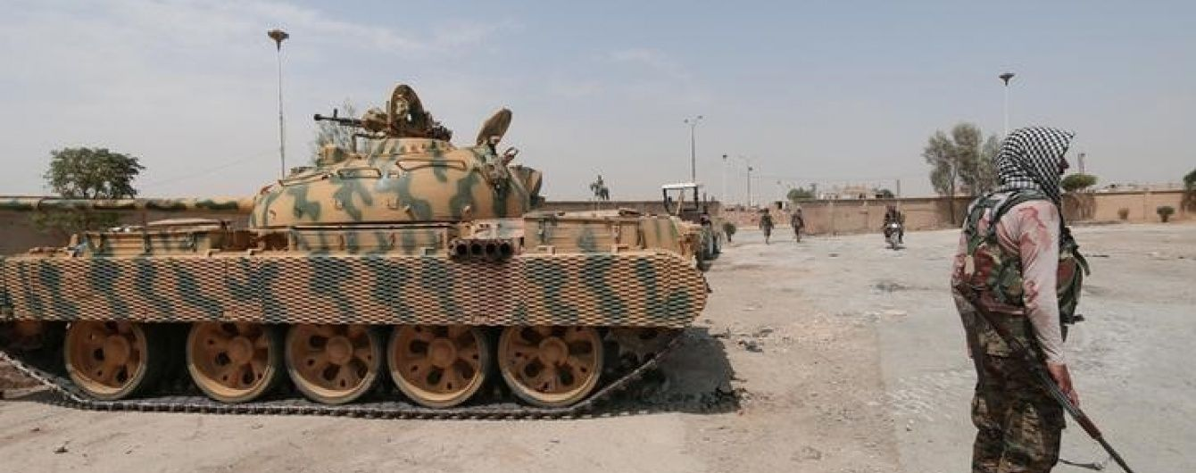 """Підтримувані Туреччиною сирійські повстанці витиснули """"Ісламську державу"""" з Дабіка – ЗМІ"""