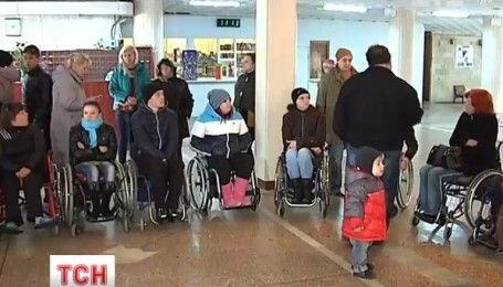 Переселенцев с инвалидностью спровадили из одесского пансионата