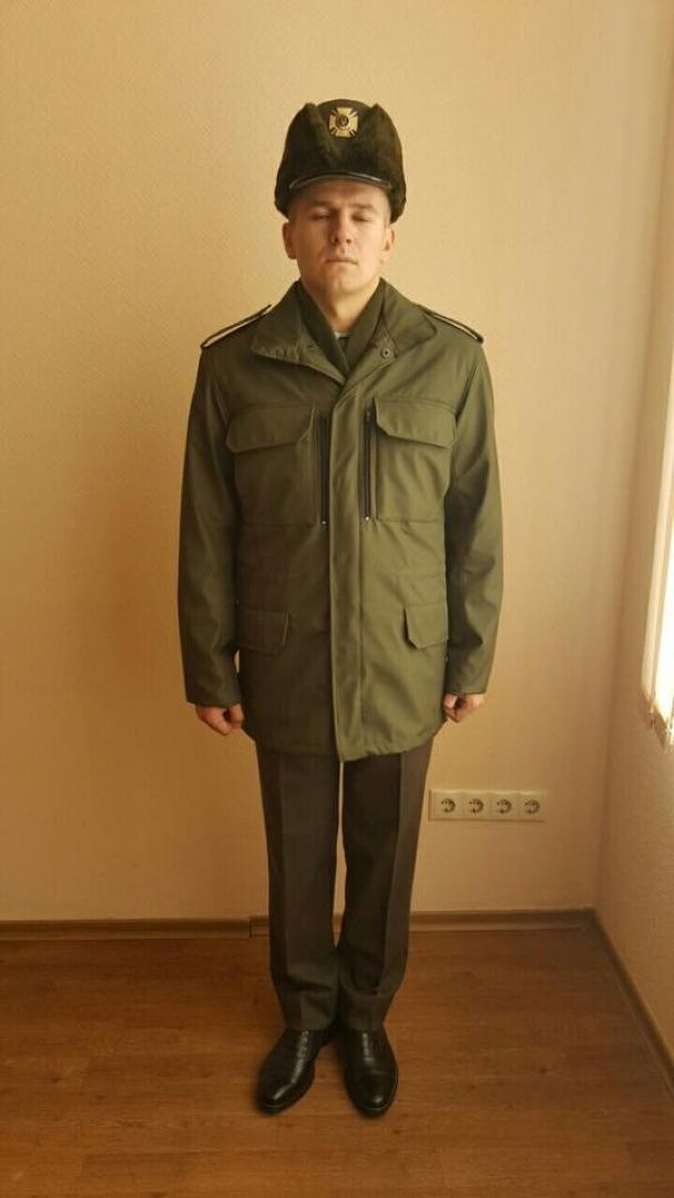 Коллекция осень-зима. Бирюков показал новую форму военных