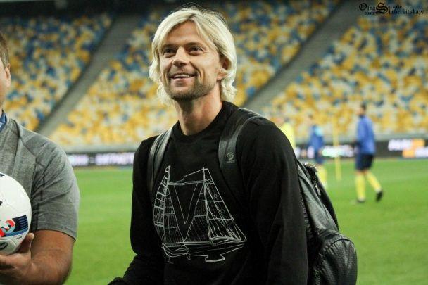 Рекордсмен Тимощук приїхав підтримати збірну України перед матчами ЧС-2018
