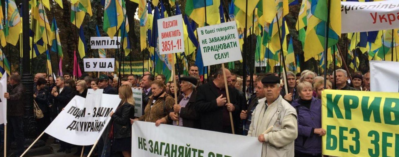 Дотації та розгляд закону: перші наслідки протестів українських аграріїв
