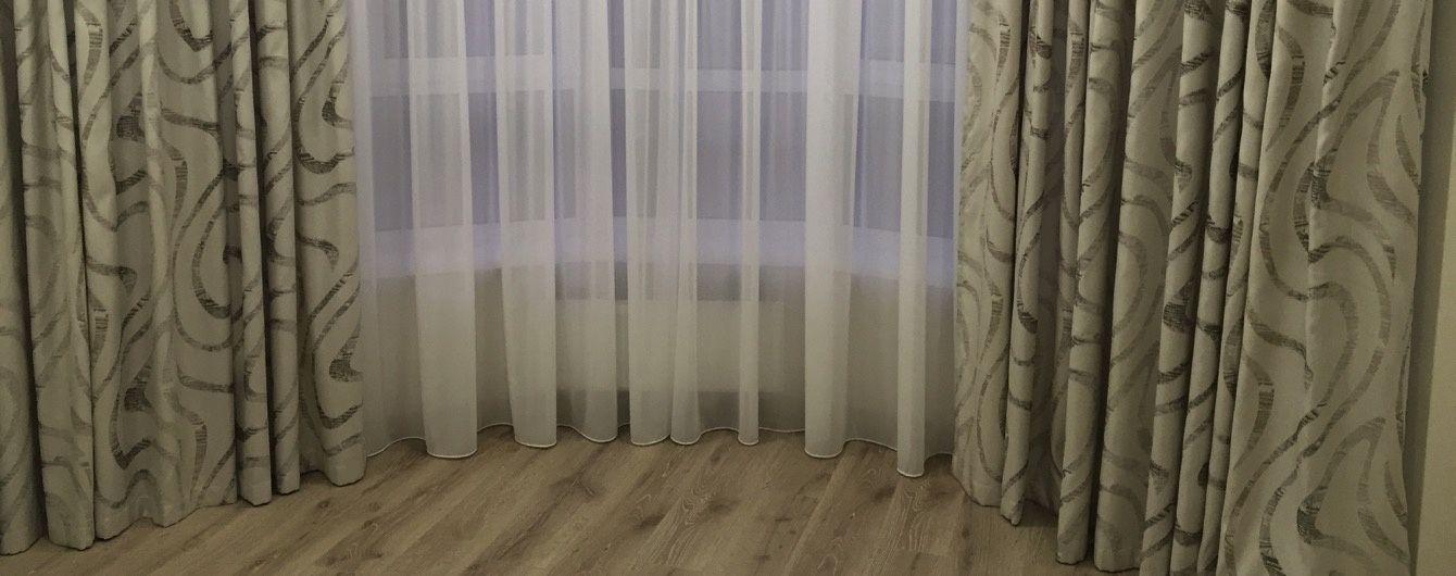 Знову у моді: штори з льону