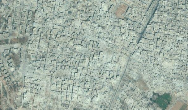 Алеппо в 2013 и 2016 годах
