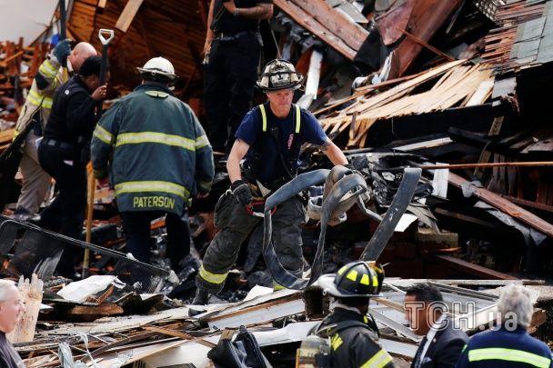 В Нью-Джерси в воздух взлетели два дома