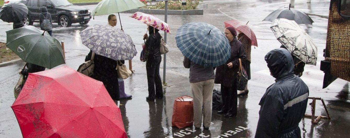 В субботу Украину будут поливать грозовые дожди. Прогноз погоды на 13 мая